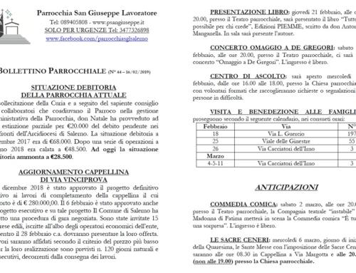 Bollettino Parrocchiale n. 44