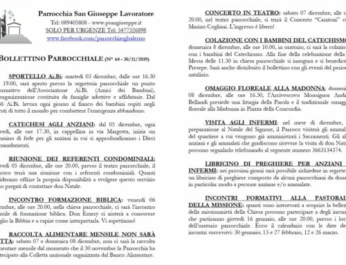 Bollettino parrocchiale n. 64