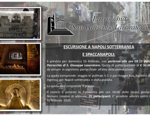 Escursione a Napoli sotterranea e a Spaccanapoli