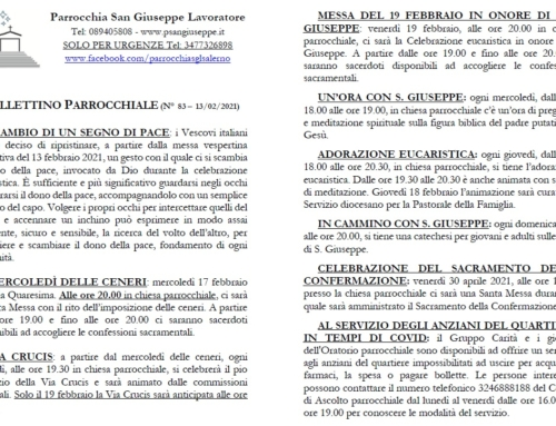 Bollettino n. 83
