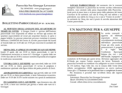 Bollettino n.85